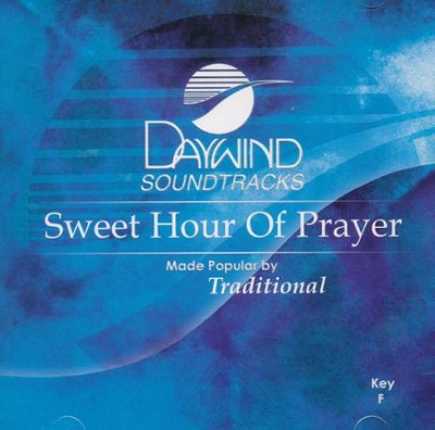 Sweet Hour Of Prayer, Acc CD   -