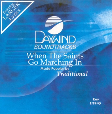 When the Saints Go Marching In, Accompaniment CD   -