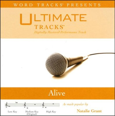 Alive - High Key Performance Track with Background Vocals  [Music Download] -
