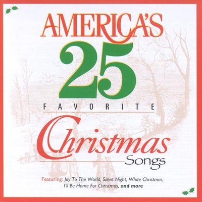 America's 25 Favorite Christmas Songs CD   -     By: Various Artists