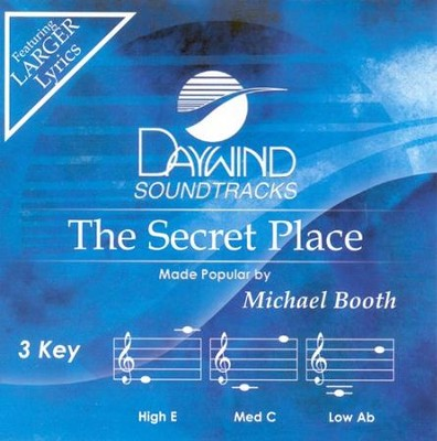 The Secret Place, Accompaniment CD  -     By: Michael Booth