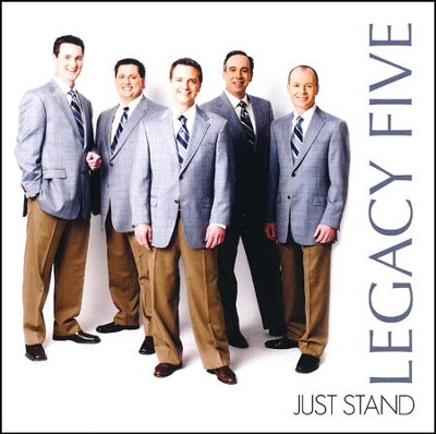 Just Stand CD   -     By: Legacy Five