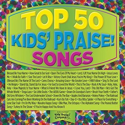 Top 50 Kids' Praise! Songs (Green)   -     By: Various Artists