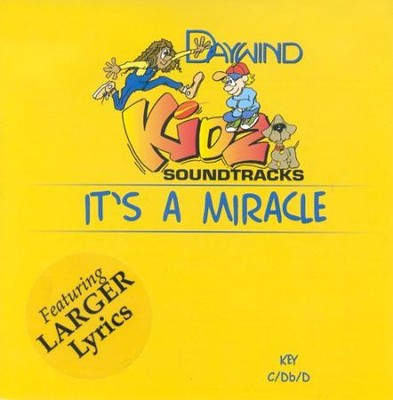 It's A Miracle, Accompaniment CD   -