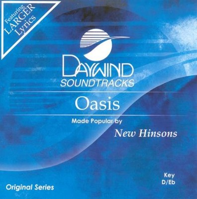 Oasis, Accompaniment CD   -     By: The New Hinsons