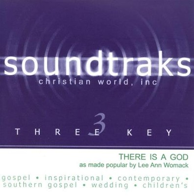 There Is A God, Accompaniment CD   -     By: Lee Ann Womack
