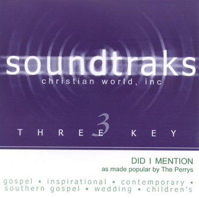 Did I Mention, Accompaniment CD   -     By: The Perrys