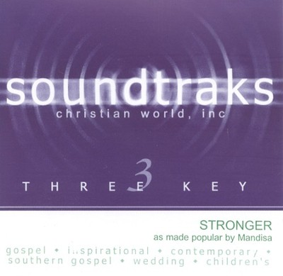 Stronger, Accompaniment CD   -     By: Mandisa