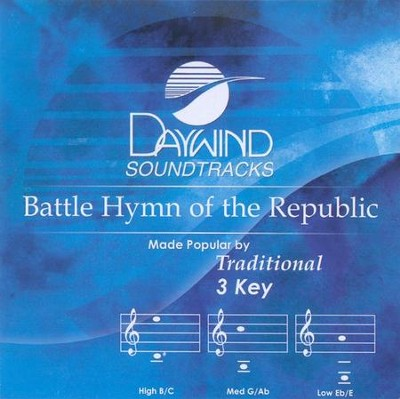 Battle Hymn of the Republic, Accompaniment CD   -