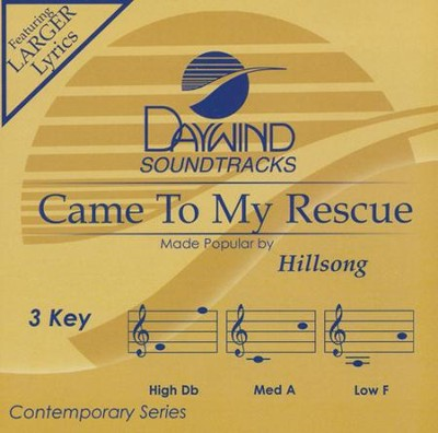 Come to My Rescue, Acc CD   -     By: Hillsong