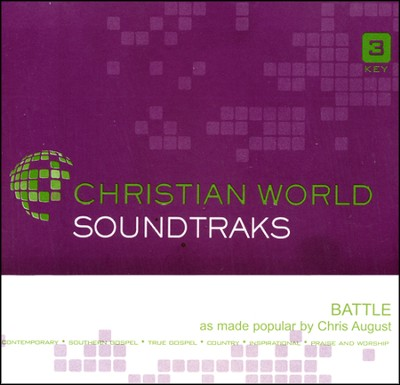 Battle, Accompaniment CD   -     By: Chris August