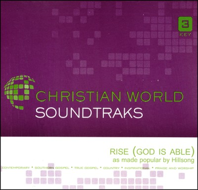 Rise (God Is Able), Accompaniment CD   -     By: Hillsong