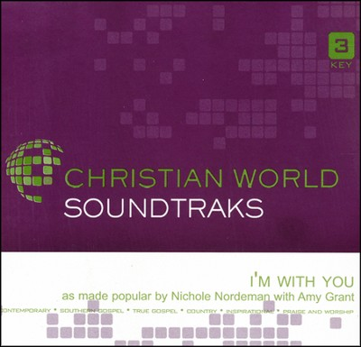 I'm With You, Accompaniment CD   -     By: Nichole Nordeman
