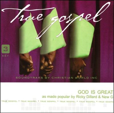 God Is Great, Accompaniment CD   -     By: Ricky Dillard