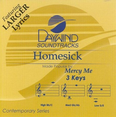Homesick, Accompaniment CD   -     By: MercyMe