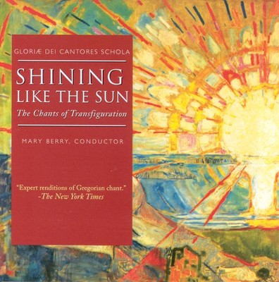 Shining Like The Sun: The Chants of Transfiguration CD   -     By: Gloriae Dei Cantores Schola