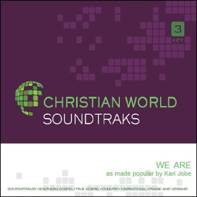 We Are, Accompaniment CD   -     By: Kari Jobe