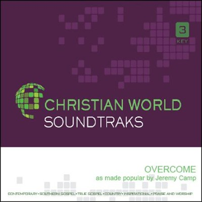 Overcome, Accompaniment CD   -     By: Jeremy Camp