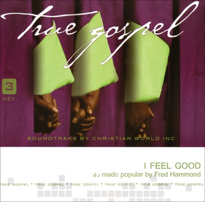 I Feel Good Acc, CD  -     By: Fred Hammond