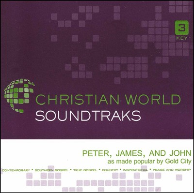 Peter, James, and John, Accompaniment CD   -     By: Gold City