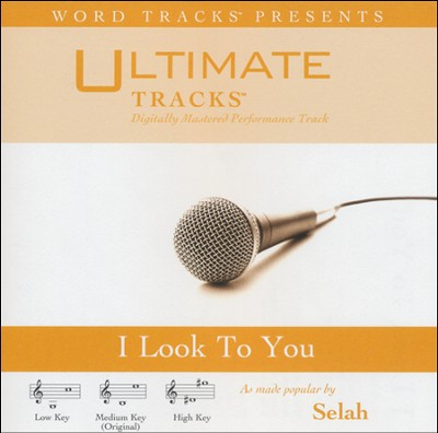 I Look To You (Medium Key Performance Track w/o Background Vocals)  [Music Download] -