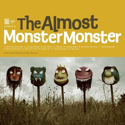 Monster Monster CD   -     By: The Almost
