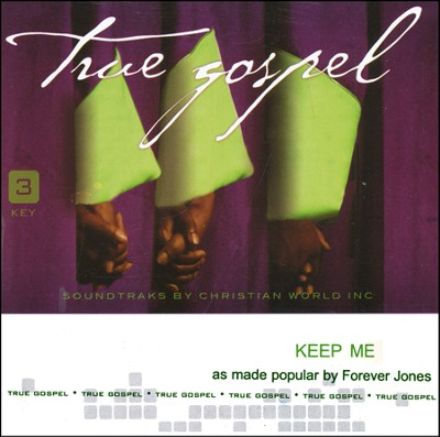 Keep Me Acc, CD  -     By: Patrick Dopson