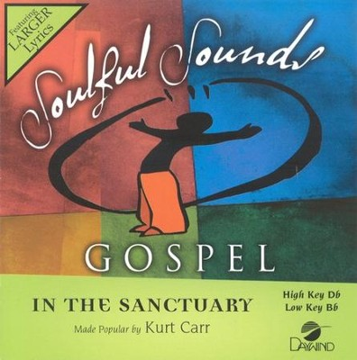 In The Sanctuary, Accompaniment CD   -     By: Kurt Carr