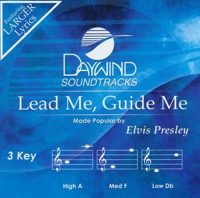 Lead Me, Guide Me, Acc CD   -     By: Elvis Presley