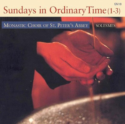 Sundays in Ordinary Time CD   -     By: The Monks of Solesmes