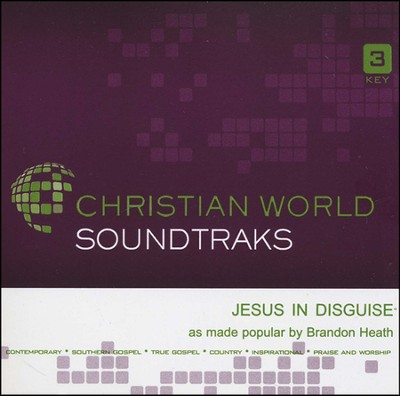 Jesus in Disguise Acc, CD  -     By: Brandon Heath