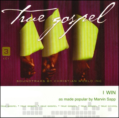 I Win Acc, CD  -     By: Marvin Sapp