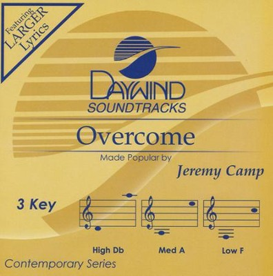 Overcome Acc, CD  -     By: Jeremy Camp
