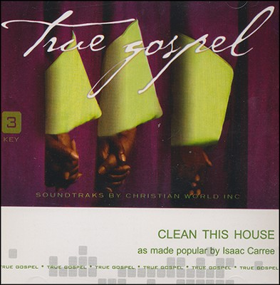 Clean This House Acc, CD  -     By: Isaac Carree