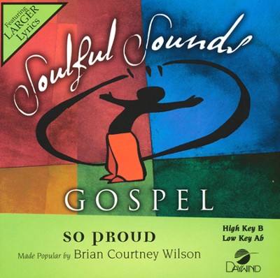 So Proud, Acc CD    -     By: Brian Courtney Wilson