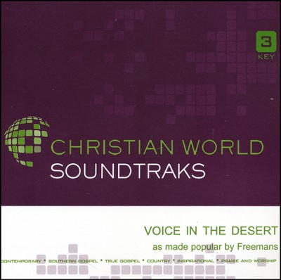 Voice in the Desert Acc, CD  -     By: The Freemans