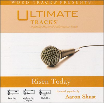 Risen Today Acc, CD  -     By: Aaron Shust
