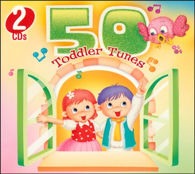 50 Toddler Tunes (2 Disc Set)   -