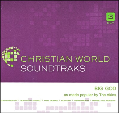 Big God Acc, CD  -     By: The Atkins