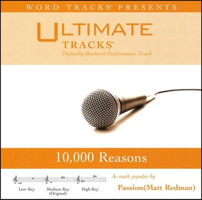 10,000 Reasons (Medium Key Performance Track w/ Background Vocals)  [Music Download] -