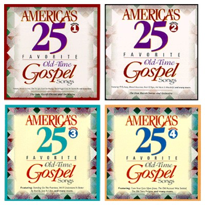 America's 25 Gospel CD Pack   -     By: Various Artists