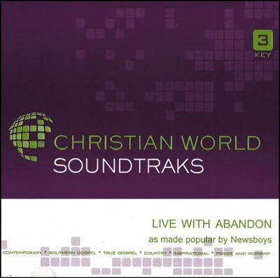 Live With Abandon [ACC CD]  -     By: Newsboys