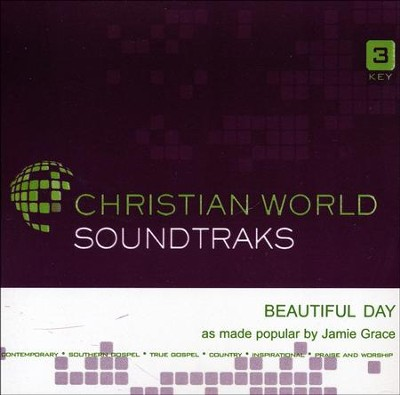 Beautiful Day -accompaniment CD   -     By: Jamie Grace