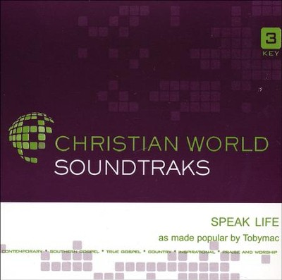 Speak Life Acc, CD  -     By: tobyMac