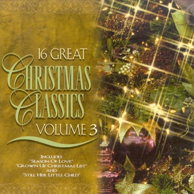 16 Great Christmas Classics, Volume 3 CD   -