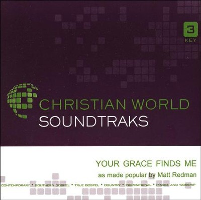 Your Grace Finds Me Acc, CD  -     By: Matt Redman