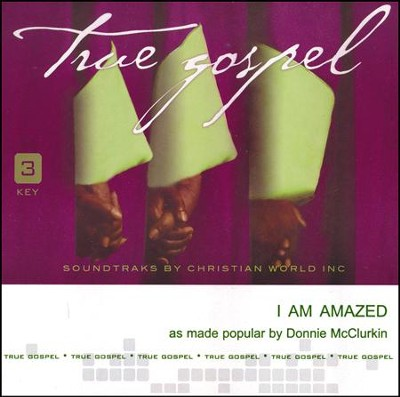 I Am Amazed [ACC CD]  -     By: Donnie McClurkin