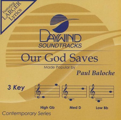 Our God Saves, Acc CD    -     By: Paul Baloche