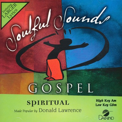 Spiritual   -     By: Donald Lawrence