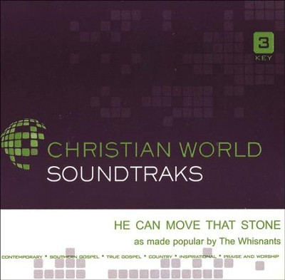 He Can Move That Stone Acc, CD  -     By: The Whisnants
